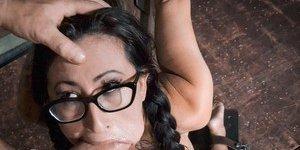 Gagging Latina Photos